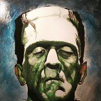 Retrato frankestein