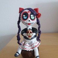 Catrina Figura niña Chibi