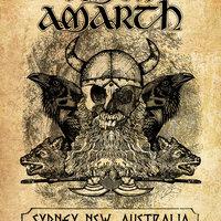 Amon Amarth Live in Australia - Póster Ilustrado