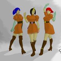 Tres Chicas Edram