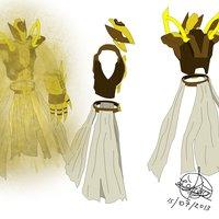 Dibujos antiguos - Concepto de personaje - Izhu