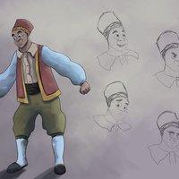 Character design El aldeano
