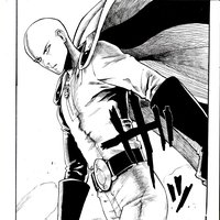 Saitama One Punch Man- Inktober 2019
