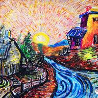 Influencia Van Gogh