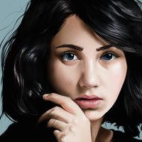 Retrato de Emily Rudd