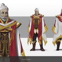 Wizards character concept art