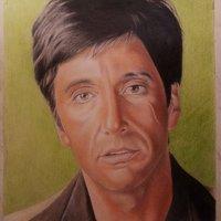 Retrato de Tony Montana