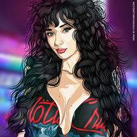 Crüe Girl - Ilustración Vectorial