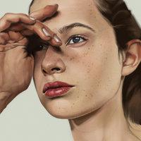 Retrato de Anna Lund