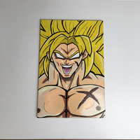 AZULEJO BROLY!! - BROLY TAIL