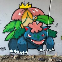 VENUSAUR GRAFFITI