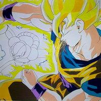 Goku VS Coola (Sin terminar)