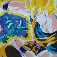 Goku VS Coola