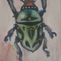 escarabajo verde