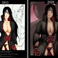 ¿Que pasaría si Kisame...? Desafio dibujando +18