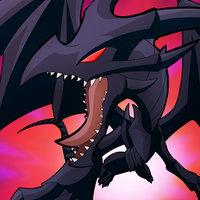 Dragon Negro de Ojos Rojos