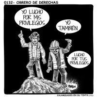 Viñeta 0132- Obrero de derechas
