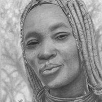 mujer himba de Namibia