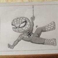 Caricatura Spider-Man