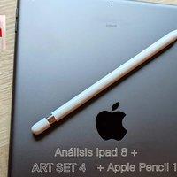 Análisis IPad 8 y la App de dibujo Art Set 4