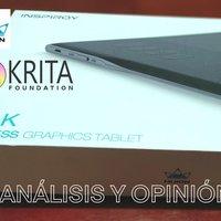 Análisis tablet digitalizadora y Krita