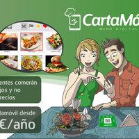 Ilustración publicitaria para la empresa carta-movil