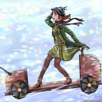 Ilustración de Anastasia terminado