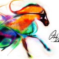 Caballo Colores Fuego