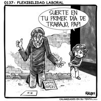 Viñeta 0137- Flexibilidad laboral