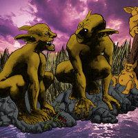 Goblins pescando
