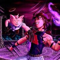 Combate estilo KOF (Colaboración con Misho :3)