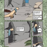 Comic rosi la lagartita coloreado
