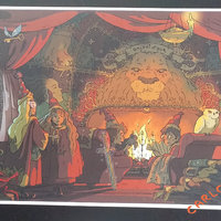 Harry Potter Gryffindor Common Room Fanart