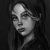 Girl scalegray