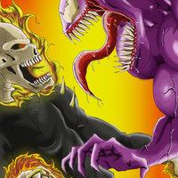 Ghost Rider VS Venom