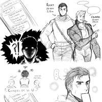 Roger x Eduardo| Tira sketch