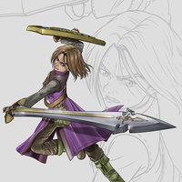 El Héroe / Dragon Quest XI Fanart