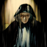 Retrato de anciana (según Rembrandt)