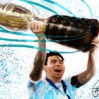 Messi Campeon de America