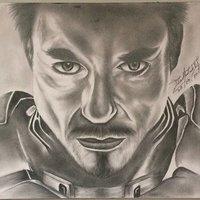 Dibujo a Lápiz, Iron Man
