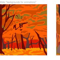 Backgrounds for Animations