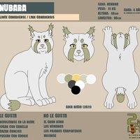 FICHA PERSONAJE 2021: NUBARA