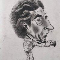Caricatura a Lápiz, Fotógrafo.