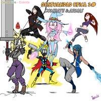 ¡Nuevo! Gestualidad épica #3 Combate & armas