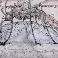 Un mosquito en la habitación
