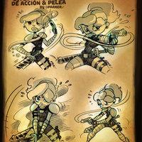 POSES DE ACCIÓN, By PARKER.-