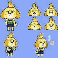 Animal Crossing Canela Fan-Art