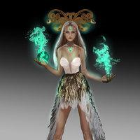 La bruja esmeralda