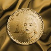 Marilyn Monroe moneda