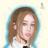 Alycia Portrait drawing Oz Galeano